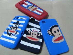 China Cute Silicone Mobile Phone Covers , Business Advertising Promotional Items For Event on sale
