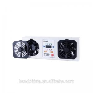 China 2 Fans Ionizing Air Blower Desktop Type With Magnetic Leakage Transformer on sale