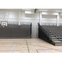 China Wall Attached Retractable Theater Seating , Telescopic Seating Systems For Play Areas on sale