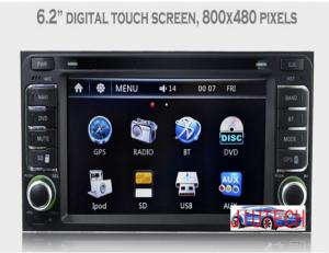 China Car Stereo GPS Headunit Multimedia DVD Player for Toyota Hilux Land Cruis Prado Camry on sale