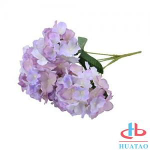 China PE Artificial Hydrangea Flowers For Wedding / Parties Decoration on sale
