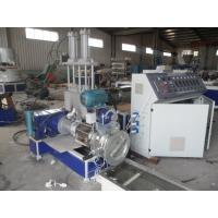 China 2 Stage Recycled Film Spaghetti Pellet Plastic Extrusion Machine on sale