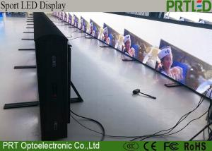 China IP65 Waterproof Football Stadium Perimeter LED Display P6 With Strong Durable Panels on sale