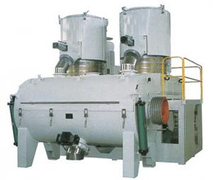 China High capacity Horizontal Mixing Unit Hot  Mixing and Cooling Mixer on sale