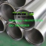 stainless steel Johnson screen pipe/Wire wrapped screen/wedge wire screen pipe for water well drilling