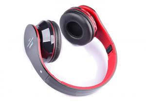 China Wireless Stereo Headphones , Bluetooth Music Headphones Over Ear With Microphone on sale