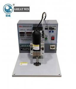 China belt loop machine Ear Loop Belt Ultrasonic Spot Welding Machine For KN95 N95 Medical Disposable Face Mask(GW-109) on sale