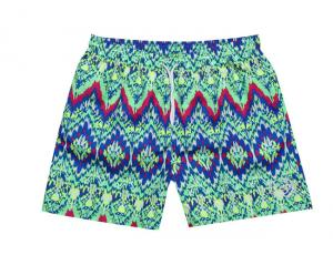 China BLUE HIBISCUS SURF SHORT. on sale