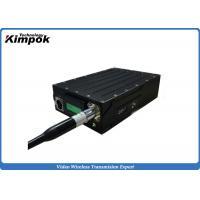 China Full Duplex HD Wireless COFDM Transceiver 5 Watt IP Wireless Transceiver Low Latency on sale