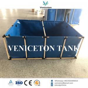Hot-sale flexible fish tank & fish farming tank plastic PVC