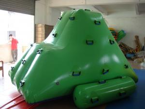 China High - Strength Pvc Tarpaulin 0.9mm  Pvc Tarpaulin Iceberg Inflatable Water Games on sale