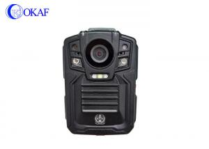 China Portable Personal Police Body Worn Video Camera  Local Storage Hourly Voice Broadcast on sale