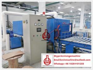 China Double Roller Extruding Technology MgO Board Production Line for Sawdust / Crushed Plant Straw Material on sale