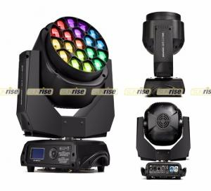 China Super Beam Bee Eye LED Moving Head Light With Zoom And Wash , 19pcsx15w 4in1 on sale