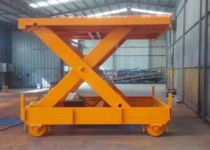 China Stationary Hydraulic Lifting Platform applied with 8 m lifting height and 1000kg load capacity on sale