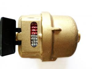 Quality High Stability Residential Water Flow Meter Brass Transmission Sensors LXH-15A for sale