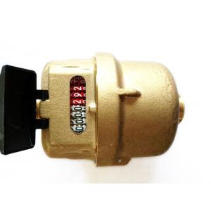 Quality High Stability Residential Water Flow Meter Brass Transmission Sensors for sale