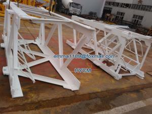 The Tower Crane Parts Mast Sections For Potain Mc80 Mc85 1 2 3m Mast For Sale Spare Parts Manufacturer From China 107362556