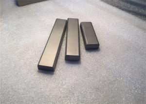 China Advanced Tungsten Bar Stock , Tungsten Carbide Square Bar Formed By Metallurgical Method on sale