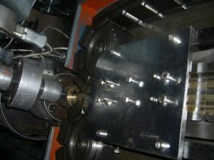 China PP, машина трубы PVC PE электрическая рифлёная, 25-30meter/Min on sale