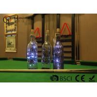 China Fashionable Wine Bottle Led Lights , Wine Bottle Lights Battery Operated on sale
