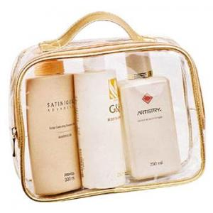 China PVC women toiletry bags on sale