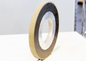 China Hardened Steeels Resin Bond Grinding Wheel With Cubic Boron Nitride Coating on sale