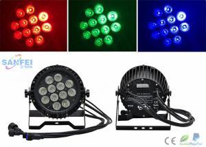 China Ip65 Par 64 Led Lights 12*10w Rgbw Color Mixing Ac100 - 240v on sale