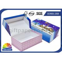 Rigid Cardboard Clamshell Soap Gift Paper Box Printing for Christmas Promotion