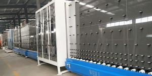 China 34 Kw Insulating Glass Line Easy Operation With High Production Efficiency on sale