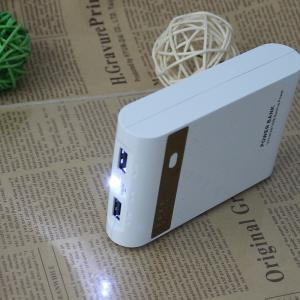 China High capacity portable charger power bank dual USB port for mobile phone charger tablets on sale