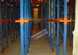 China Heavy Load Drive In Racking , Galvanised Pallet Racking Storage Drive Through Racks on sale