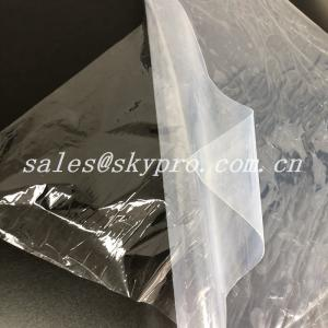 China Medical Grade Transparent Silicon Rubber Sheet Roll 1~25mmX500~1400mm on sale