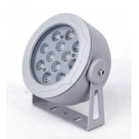 RGB Driver Outdoor LED Flood Lights 12 Watt Reflector With White Housing
