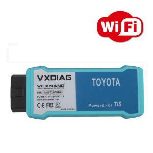 China VXDIAG VCX NANO for TOYOTA TIS Techstream  Compatible with SAE J2534 WIFI Version on sale