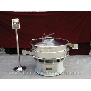 China Low noise Efficiency Stainless steel rotary vibrating  screen for active carbon on sale