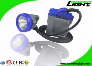 China Underground Safety Mining Cap Lights 10000lux Rechargeable 6.6Ah Lithium Ion Battery on sale
