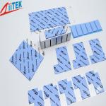 BLUE 3.2W/M-K Silicone Thermal Gap Pad With 40 SHORE00, Tem -50 To 200℃