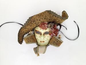 China Traditional Venetian Mask 15MF020-BE on sale