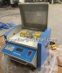 100kv insulating oil breakdown voltage bdv tester iso standards transformer oil testing setup laboratory