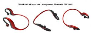 China Water-resistant wireless sport bluetooth headphones MBD119 on sale