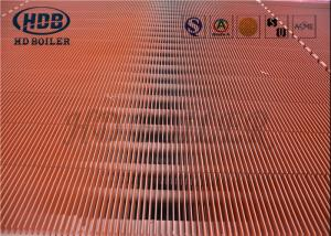 China Waste Heat Boiler Steel Tube Air Heat Exchanger , HH Double H Fin Tube Economizer wholesale