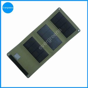 China 5W monocrystal foldable usb solar charger on sale
