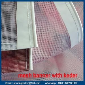 China Keder Edging PVC Vinyl Flex Display Banner on sale