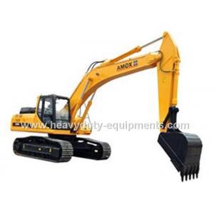China Long Arm Hydraulic Crawler Excavator XGMA Model , ISUZU Engine Rubber Duck Excavator on sale