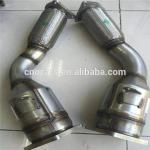 Ceramic Honeycomb Car Catalytic Converter Cleaner For Porsche Cayenne Turbo 95511302150 955113