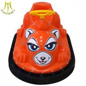 China Hansel entertainment equipment electronic kids ride on mini plastic bumper car on sale