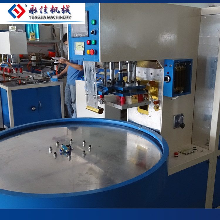 Automatic high frequency blister packing machine ,toothbrush blister packing machine