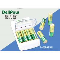 Environmental 8 AA 1000mAh Rechargeable Batteries And Charger
