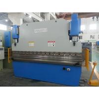 Motorized 160T/3200 Metal Sheet Bending Machine Hydraulic synchronization